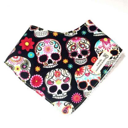 bandana bebé calaveras mexicanas