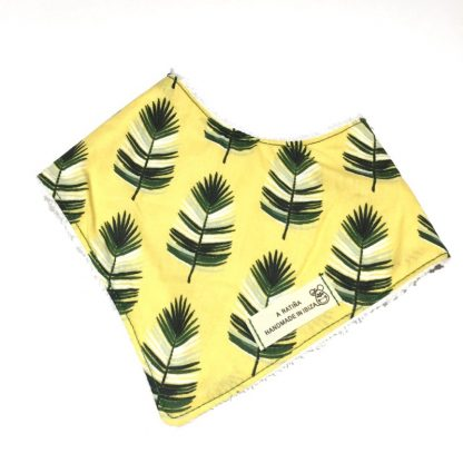 bandana bebe hojas de palma