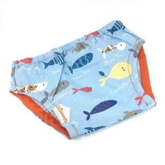 cubrepañal peces
