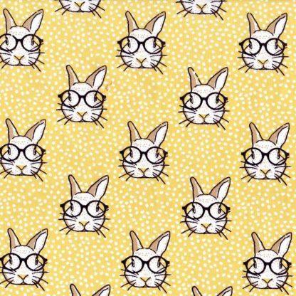 tela estampada conejos