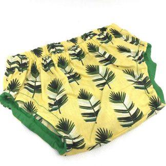 cubrepañal hojas de palma