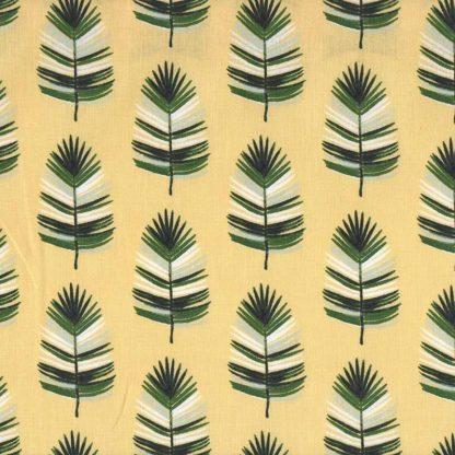 tela hojas de palmera