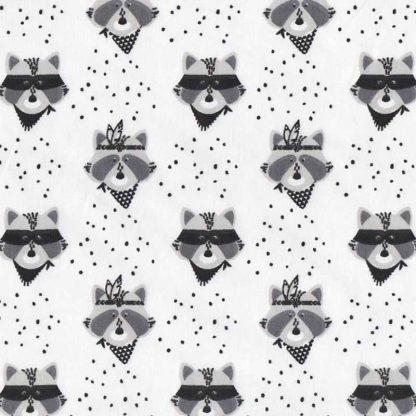 tela mapaches