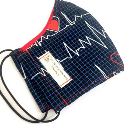 mascarilla electrocardiograma