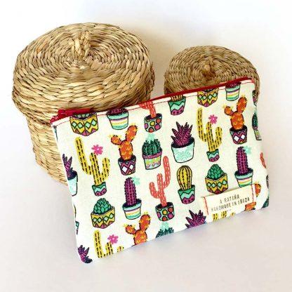 monedero cactus colores