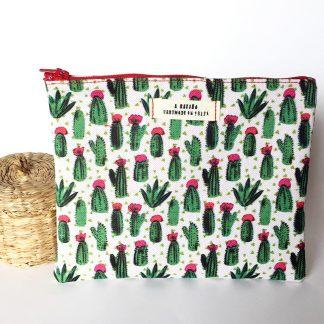 neceser cactus verdes