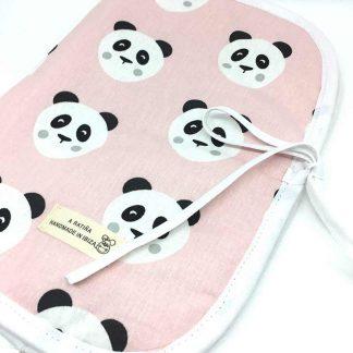 panda rosa portapanales