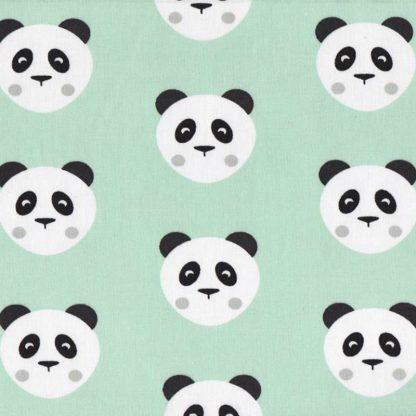 tela osos panda mint