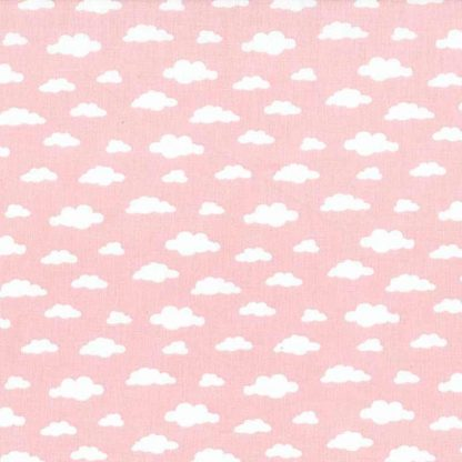 tela nubes rosa