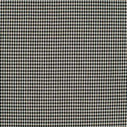 tela estampada vichy negro